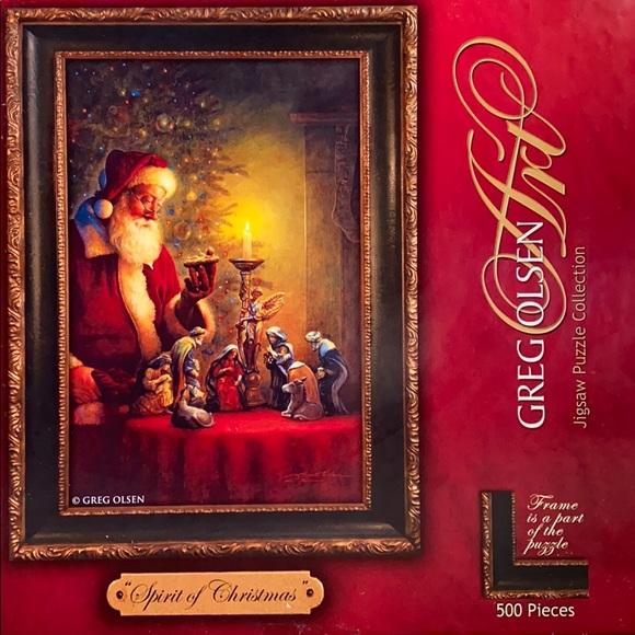 Jigsaw Puzzle- Spirit of Christmas 500piece